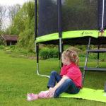 Un trampoline Kangui dans le jardin pour l'été ! [Sponso]