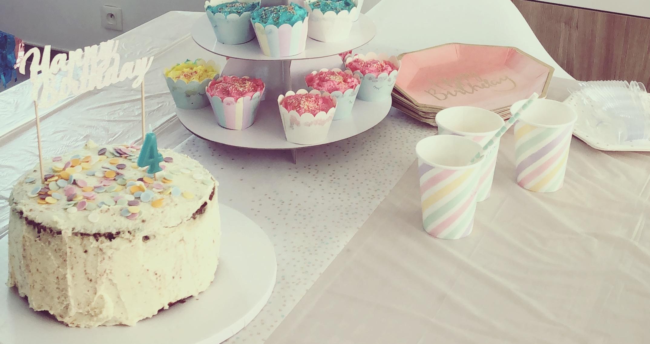 une sweet table pastel pour ses 4 ans