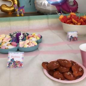 anniversaire petit poney pastel