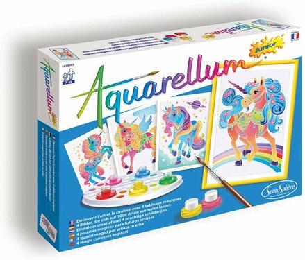aquarellum licornes