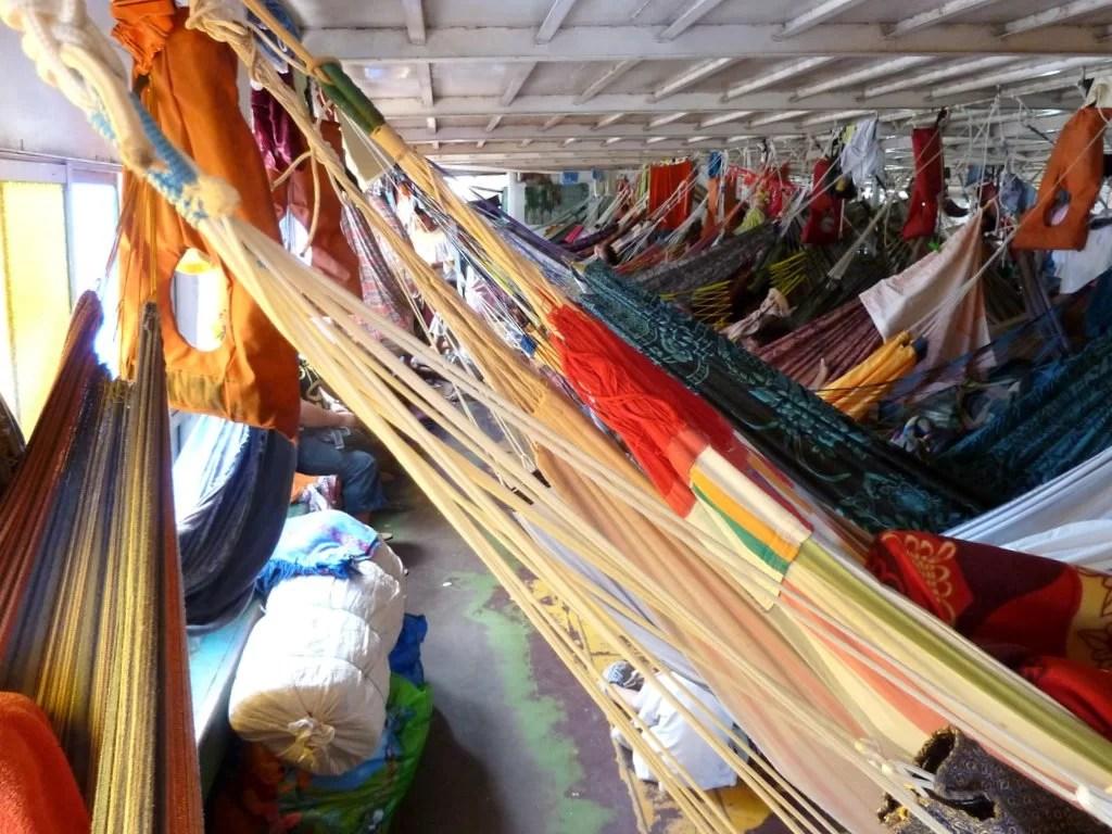 Pucallpa - Iquitos, un viaje en carguero
