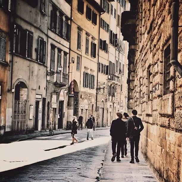 Calles de Florencia, por Jorge Gobbi