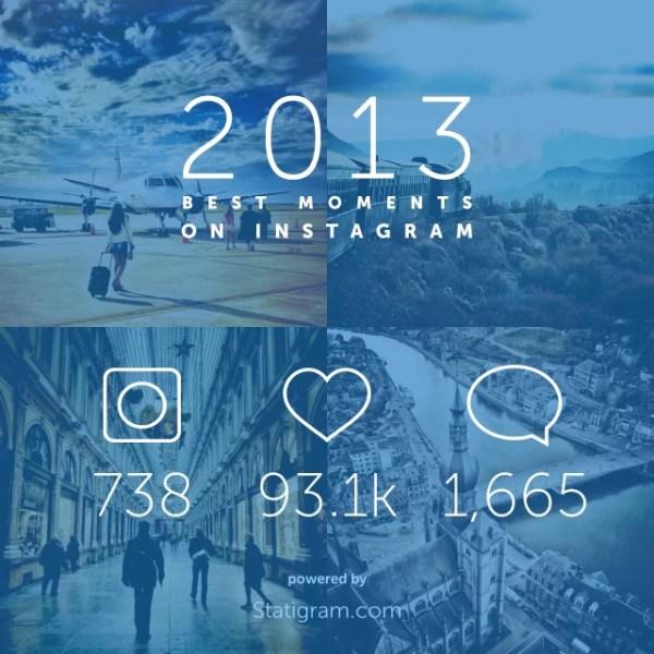 Resumen del año en Instagram