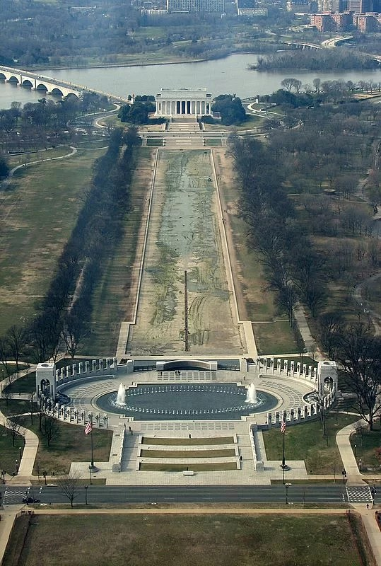 National Mall, desde el Monumento a Washington