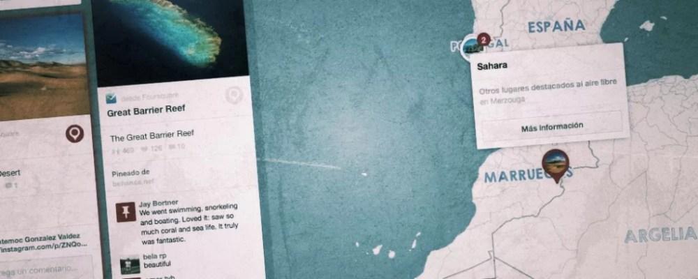 Pinterest: Mapas y pines
