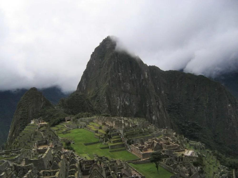 Machu Picchu, enero 2005
