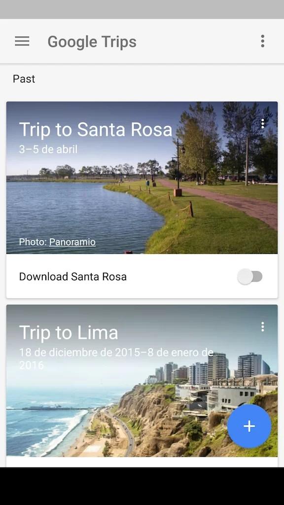 Google Trips agrega blogs y videos a sus búsquedas