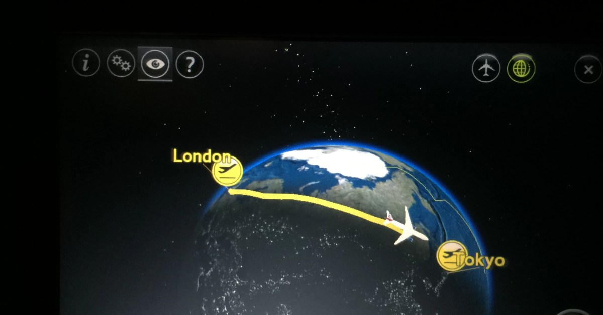 Londres - Haneda