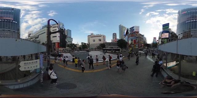 Shibuya en 360 grados