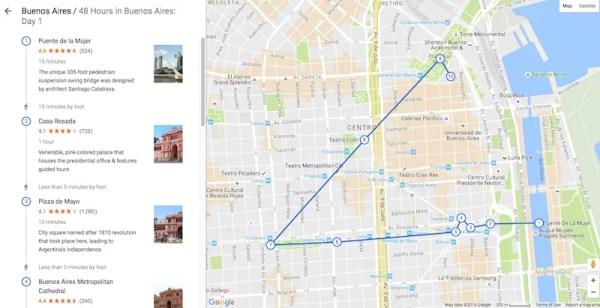 Google Destinations Buenos Aires
