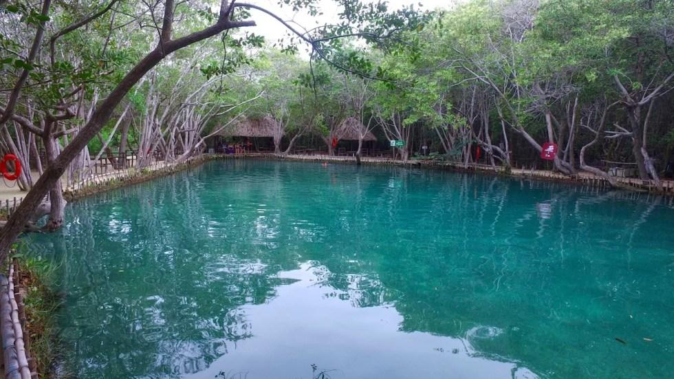 Cenotes en El Corchito