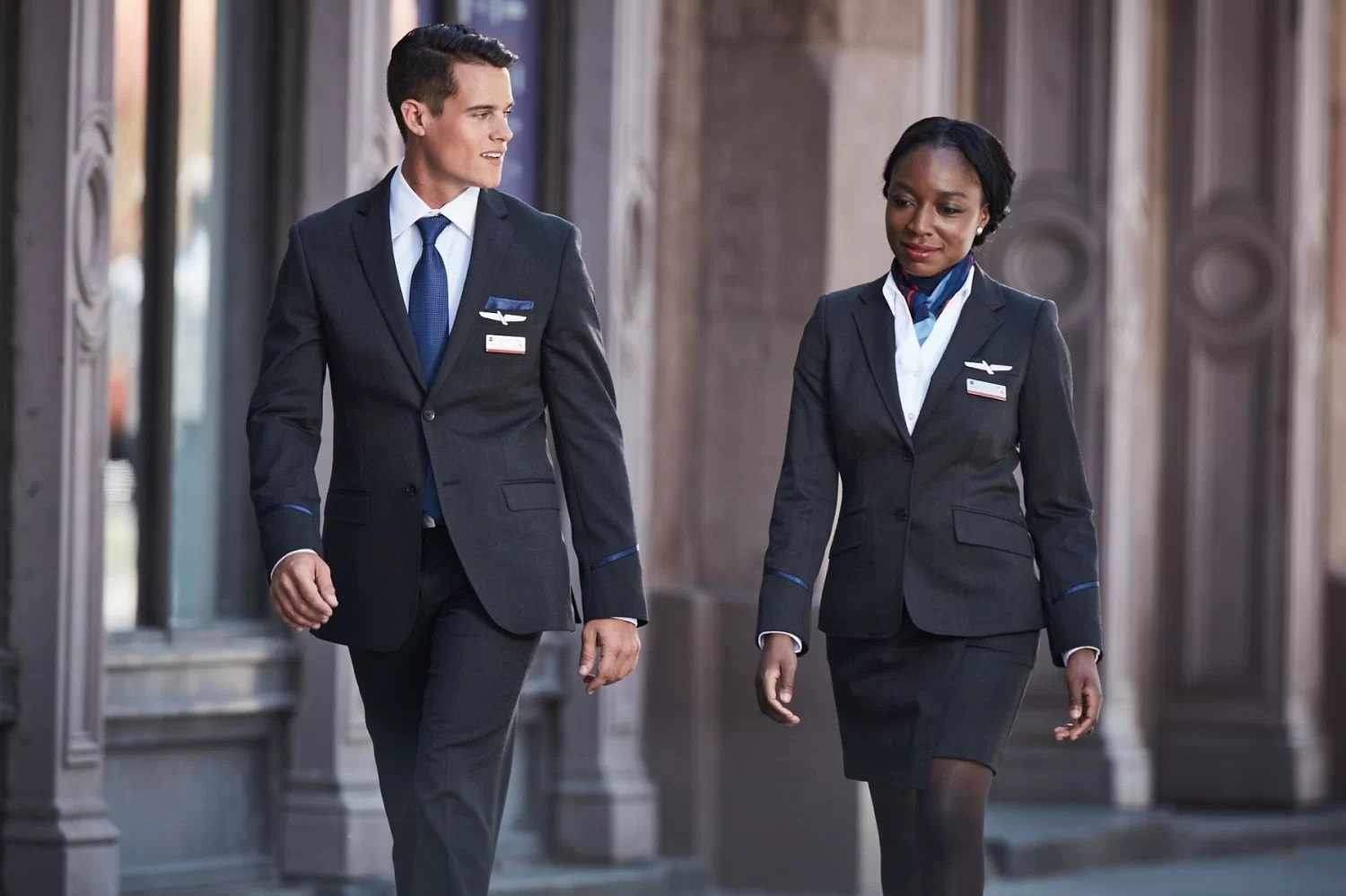 Uniformes American Airlines