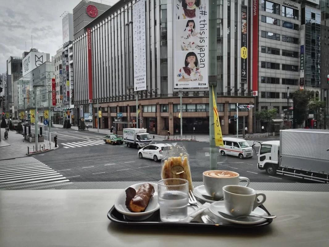 Doutor café en Ginza