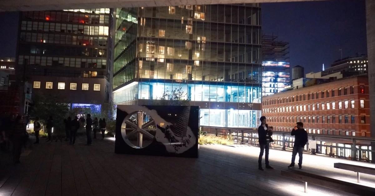 Highline Park, New York: la tarde y la noche
