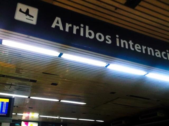 Arribos internacionales