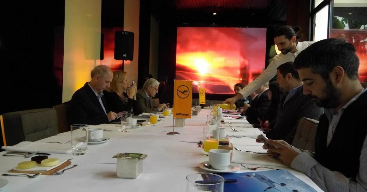 Evento de Lufthansa en Buenos Aires, un estado de situación de la aerolínea