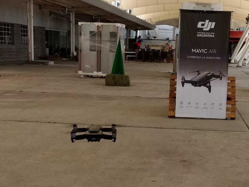 DJI y la presentación del Mavic Air en Argentina