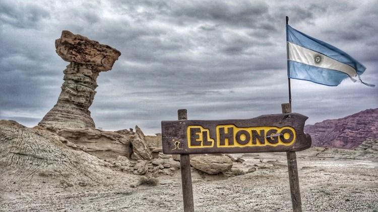 Hongo, Ischigualasto