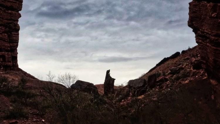 El oso, Cañón del Triásico