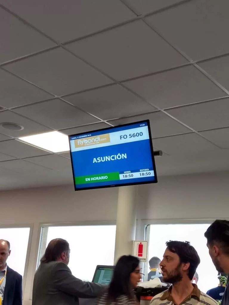 FlyBondi Asunción