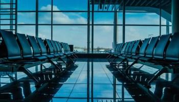 Aeropuerto vacio