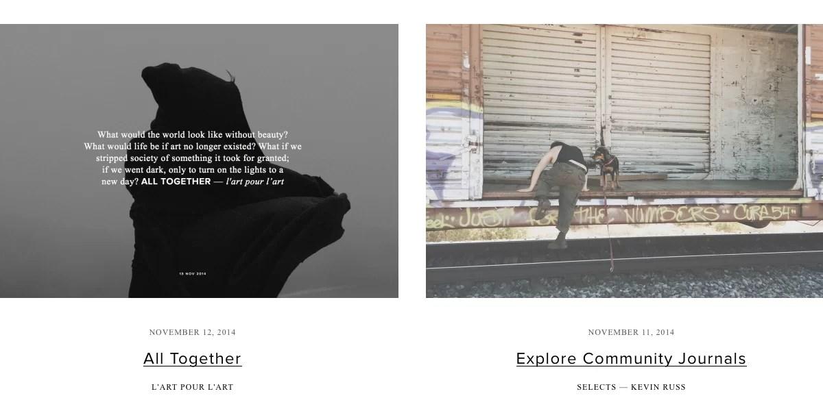 VSCO Cam, de las fotos al storytelling