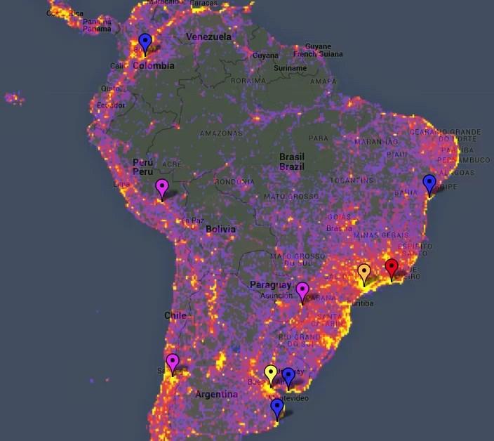 Los 10 lugares más fotografiados de América del Sur