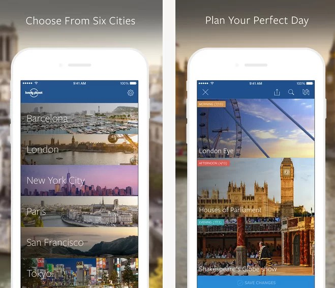 Lonely Planet Make My Day App