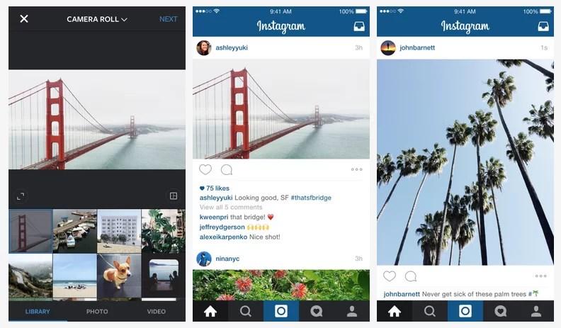 Instagram: ya no sólo fotos cuadradas