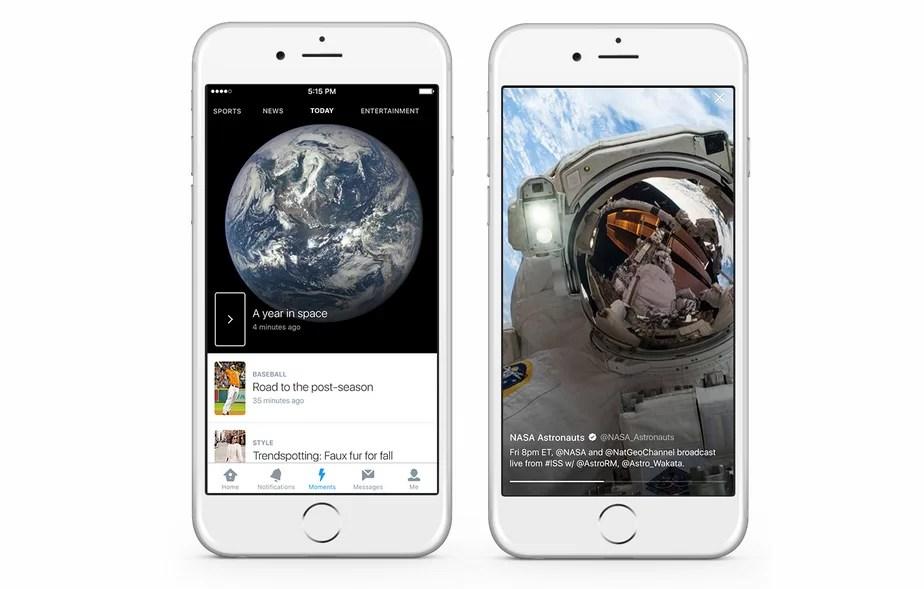 Twitter Moments: curación de contenidos y tiempo real