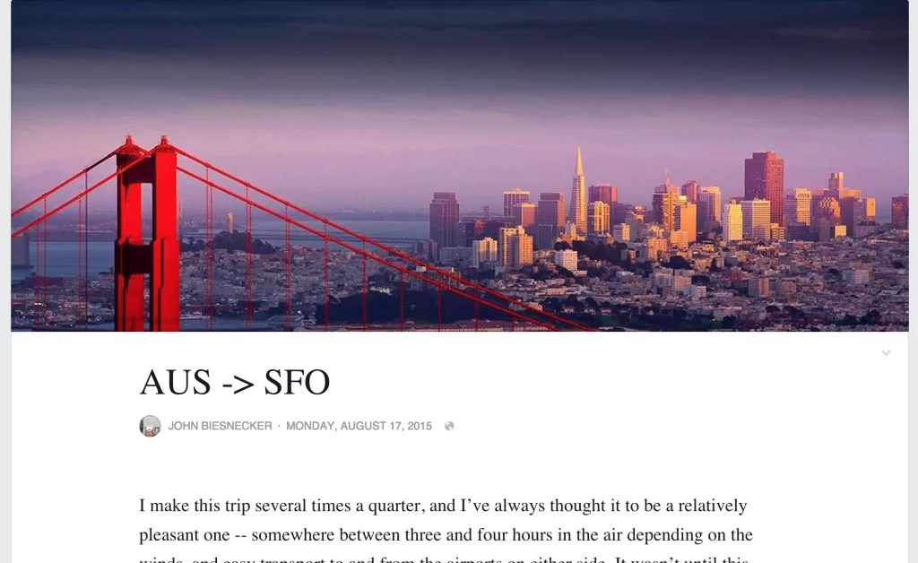Facebook: la herramienta de Notas como plataforma para blogs