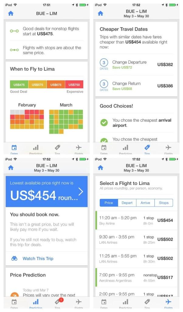 Hopper, una aplicación para predecir precios de pasajes aéreos.
