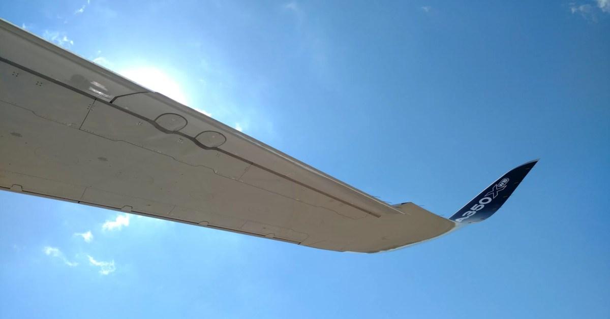 Presentación del Airbus A350 XBW en Buenos Aires