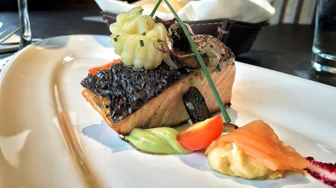 Salmon en 3 variantes