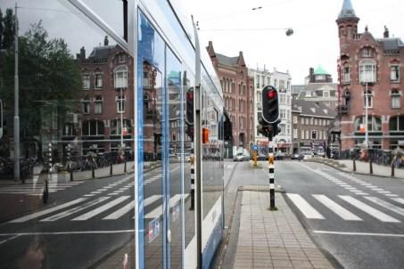 Tranvía en Amsterdam