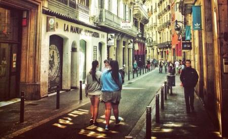 Calles de Barcelona, por jorge Gobbi