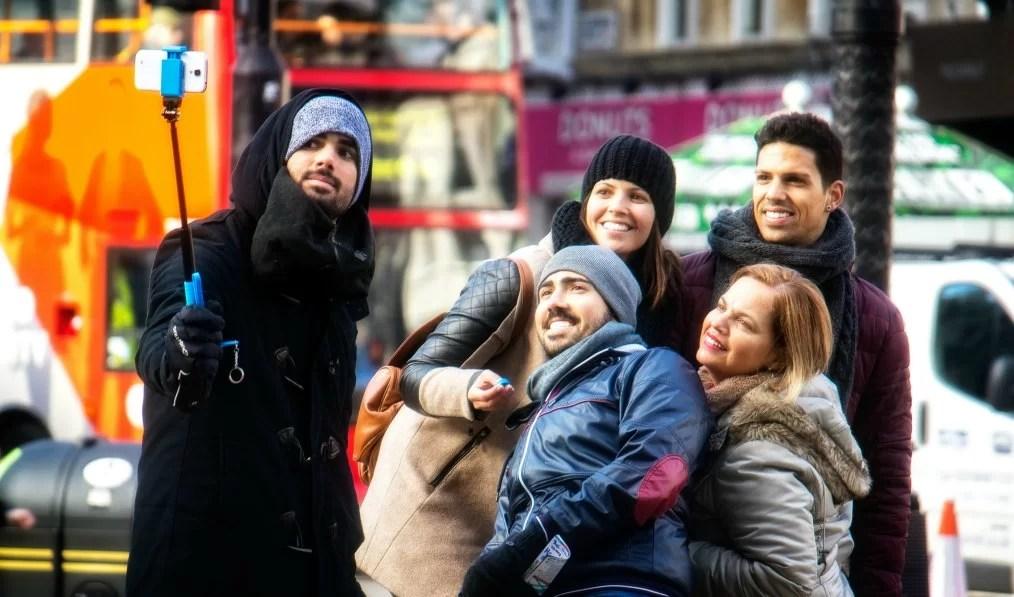 Selfie Sticks, parte del panorama turístico