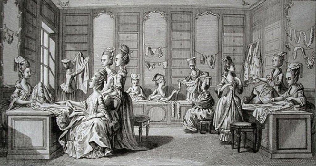 L'atelier di una modista