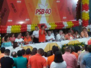 Galdino nega rompimento com PMDB e diz que oposição estará unida no segundo turno