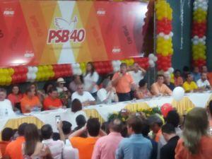 Azevedo convoca militância do partido a resgatar projeto político do PSB em JP