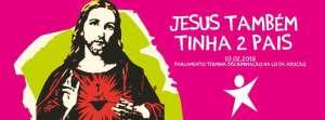 Uso de Cristo em campanha sobre adoção gay causa polêmica