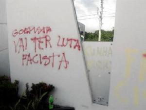 PMDB solicita proteção à sede do partido que será alvo de protestos dos manifestantes