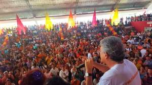Em plenária do PSB, RC diz que gestão de Cartaxo é pálida e aposta na vitória de João Azevedo
