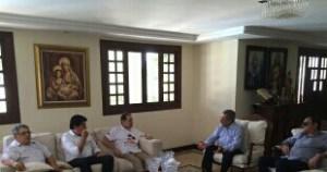 Antes de coletiva, Maranhão convoca Manoel Júnior para reunião em sua residência