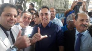 """Cartaxo registra candidatura e destaca alianças: """"É a união com o povo da cidade"""""""