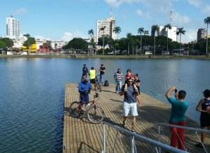 Píer da Lagoa recebe proteção e fonte luminosa será inaugurada ainda este mês