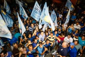 Cartaxo faz caminhada em Mangabeira e destaca avanços da gestão no bairro