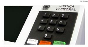 Candidatos com registro indeferido terão voto zero na totalização do resultado