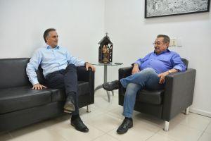 Luciano Cartaxo e José Maranhão discutem novos investimentoa para JP