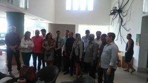 Exclusivo: Marcos Vinícius recebe apoio de 15 vereadores em café da manhã na Orla de JP